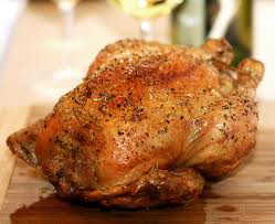 Perfectly cooked chicken