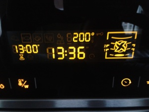 Oven Temperature Setting