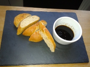 french bread and dip