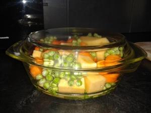 microwave veg