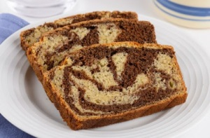 Marbled-banana-bread