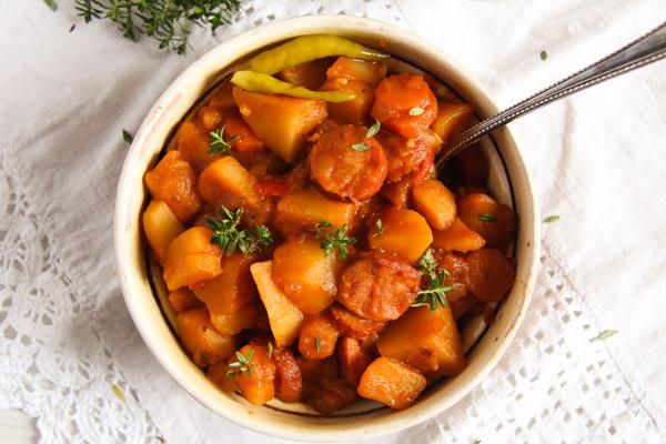 sausageandpotato