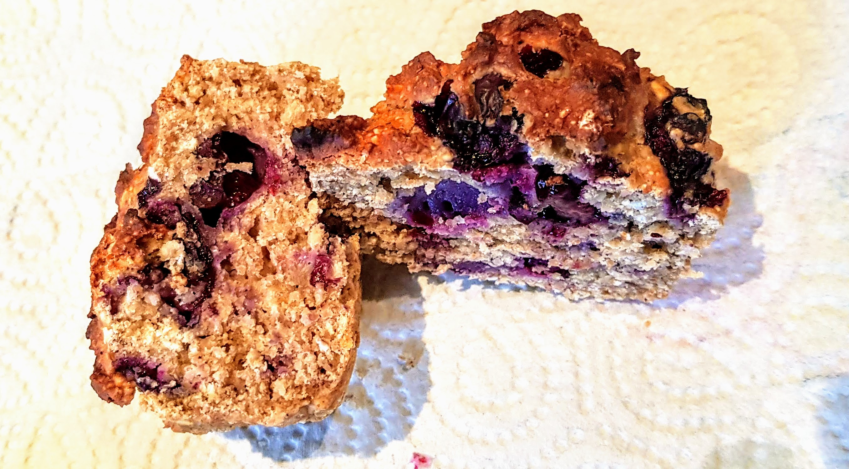 Blueberry Banana Oat Cakes Calories